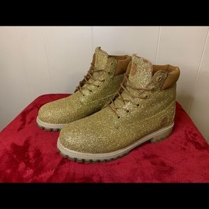 Sparkly Timberland Boots